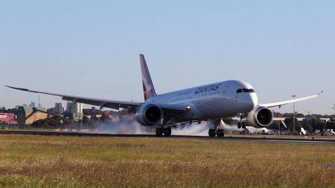 Qantas, volo non-stop record New York-Sydney (Ansa)