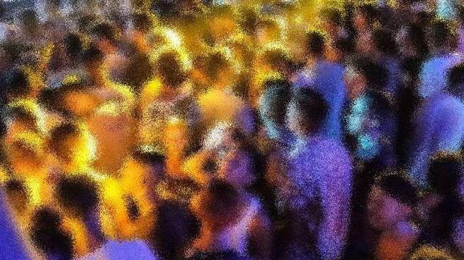 Una discoteca in una foto di repertorio