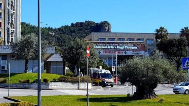 """Il pronto soccorso dell'ospedale """"Santa Maria Incoronata dell'Olmo"""" di Cava de' Tirreni"""