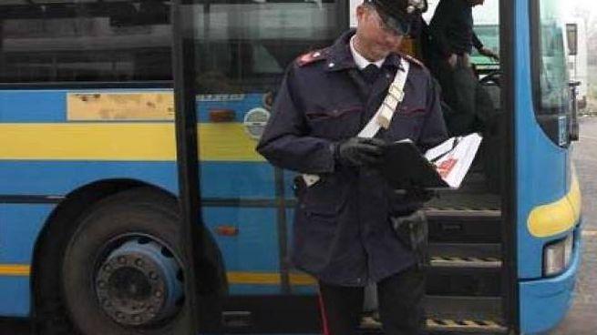 Aggressione all'autista, sono intervenuti i carabinieri