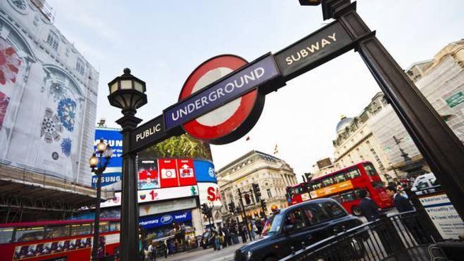 L'ingresso della London Underground