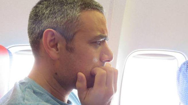 In aereo è più facile lasciarsi andare alle lacrime