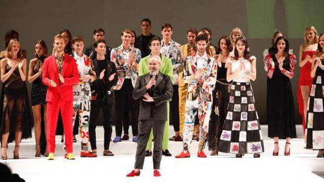 La sflata-evento di Rocco Barocco al Teatro San Carlo di Napoli