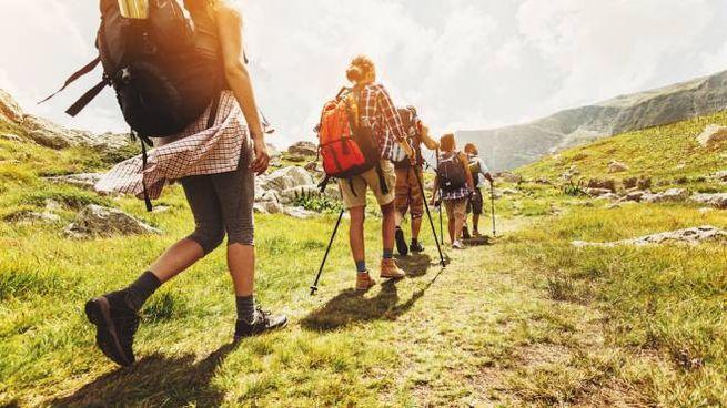 Le informazioni per fare un trekking concentrate nello smartphone