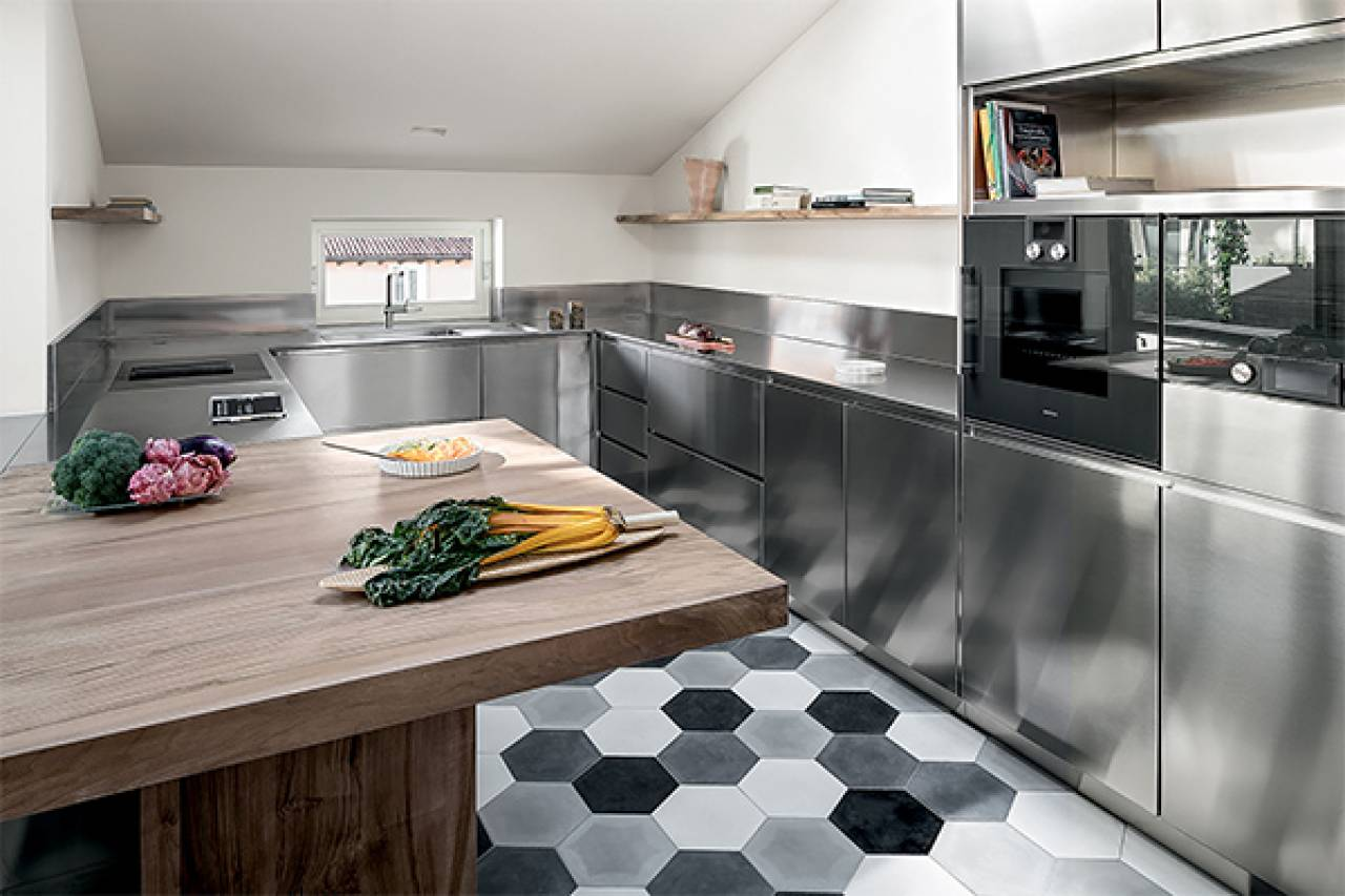 La cucina in mansarda - Magazine - quotidiano.net