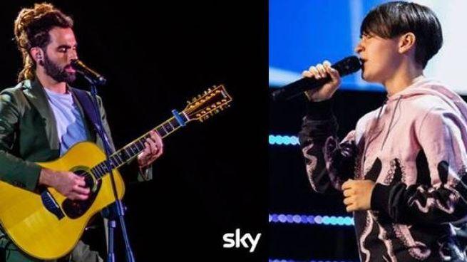 Marco Saltari e Sofia (da Fb X Factor / Sky)