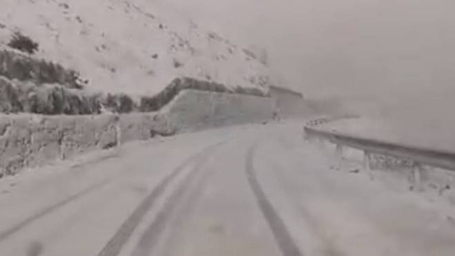 Neve alla Forcola (Frame video)