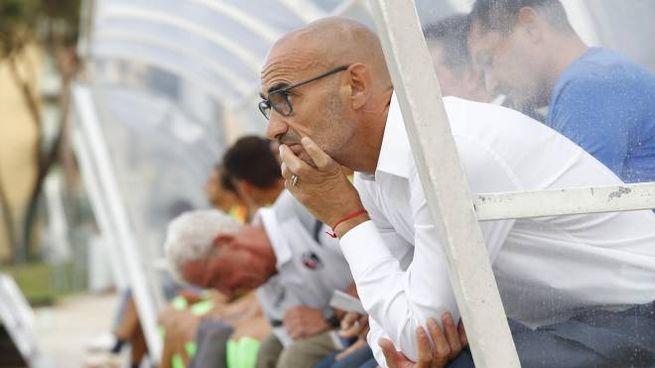 L'allenatore della Samb Paolo Montero