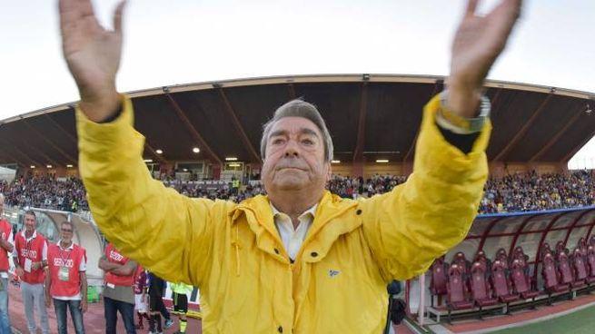 Il patron del Livorno Aldo Spinelli è soddisfatto della squadra