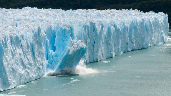Scioglimento dei ghiacciai in Patagonia, Argentina