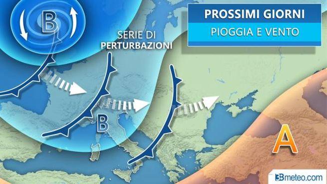 Le previsioni meteo per i prossimi giorni secondo 3bmeteo