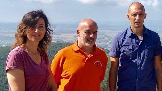 Franchi, Drosera e Ferrucci sul Monte
