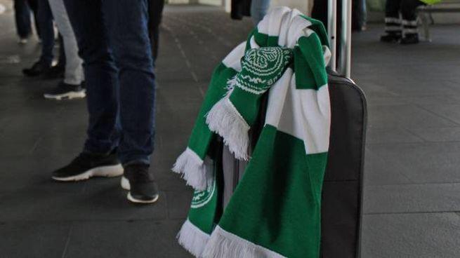 Tifosi del Celtic a Roma (Ansa)