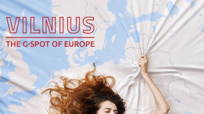 """""""Vilnius, il punto G dell'Europa"""", lo spot"""