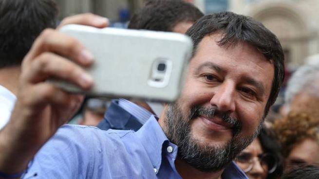 Matteo Salvini (foto Crocchioni)