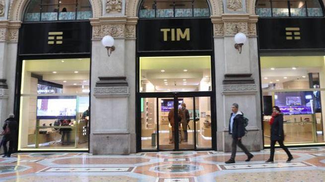 Negozio Tim in Galleria a Milano