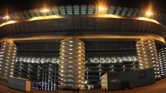 Lo stadio di San Siro