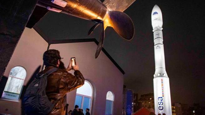 Il 'decollo' del razzo Vega