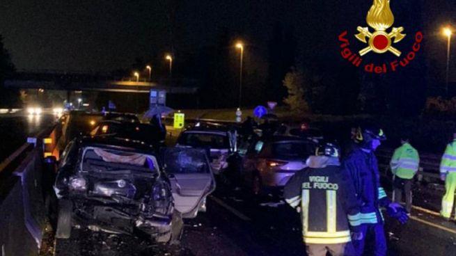 Incidente stradale sulla A11