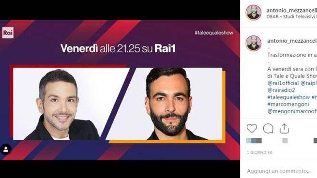 Antonio Mezzancella ha vinto con l'imitazione di Marco Mengoni (Twitter)