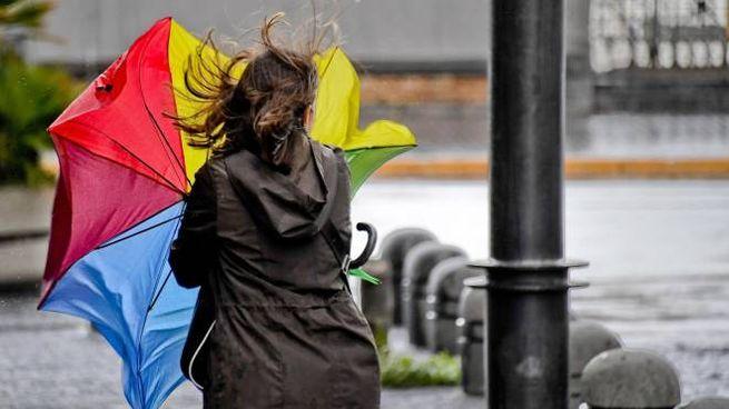 Previsioni meteo, molti giorni di maltempo (foto Ansa)