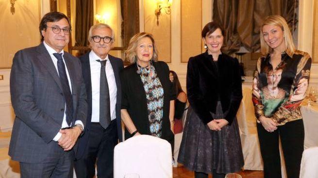La presentazione (foto Umberto Visintini/New Press Photo)