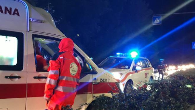 Grave incidente a Iseo