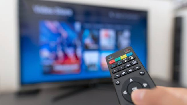 Una smart tv (iStock)
