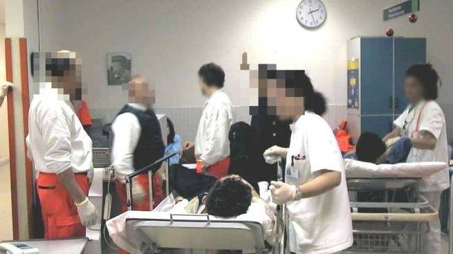Il pronto soccorso dell'ospedale Santa Maria della Scaletta