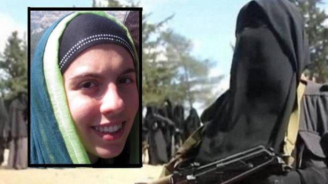 Jihadisti e un primo piano di Lara Bombonati