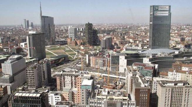 Milano vista dall'alto