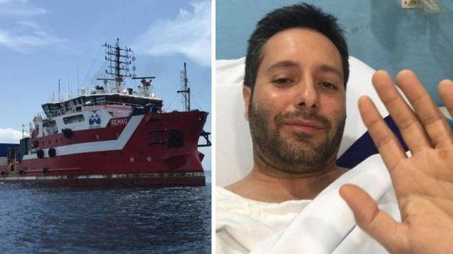 Andrea Di Palma, ravennate, e la nave Remas
