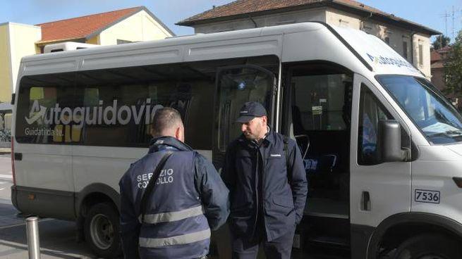 I mini bus collegano i Comuni della zona