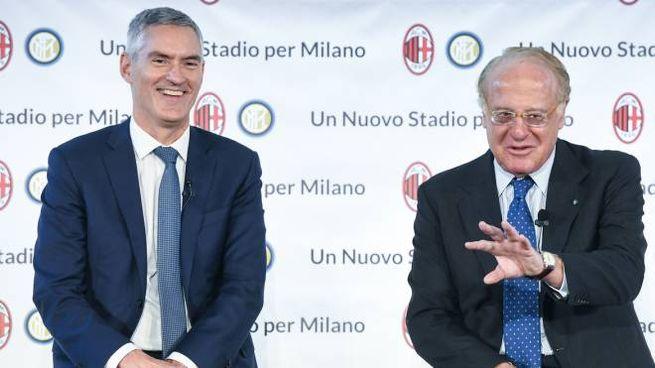 Alessandro Antonello e Paolo Scaroni (La Presse)