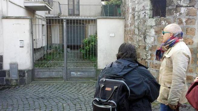 La casa dove si è consumata la tragedia (foto Ansa)