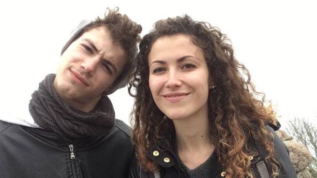 Ilaria Crotti con il fratello Pietro