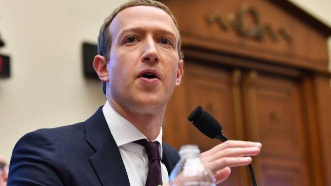 Mark Zuckerberg, 35 anni, è il fondatore e ceo di Facebook (LaPresse)