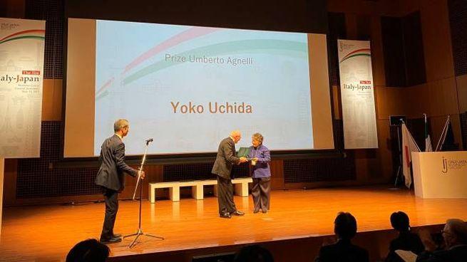La premiazione a Tokyo