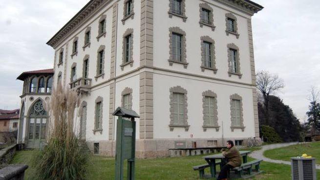 L'edificio sul promontorio di Concesa