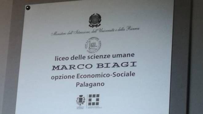 Palagano, intitolato a Marco Biagi il liceo di Scienze Umane - il Resto del Carlino