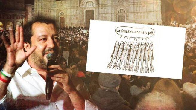 Matteo Salvini in Toscana: torna la sfida delle piazze