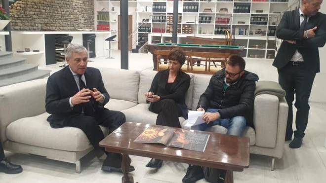 Tajani, tour a Prato: 'Può diventare la capitale dell'economia verde' - La Nazione