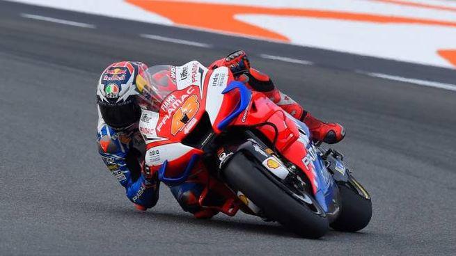 Jack Miller con la Ducati Pramac Racing (Lapresse)