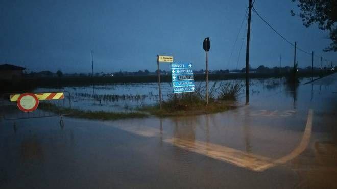 Maltempo Reggio Emilia, famiglia evacuata a Scandiano - il Resto del Carlino