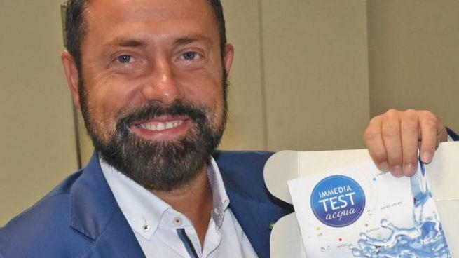 Nella foto Paolo Franco presidente  e amministratore delegato di Uniacque