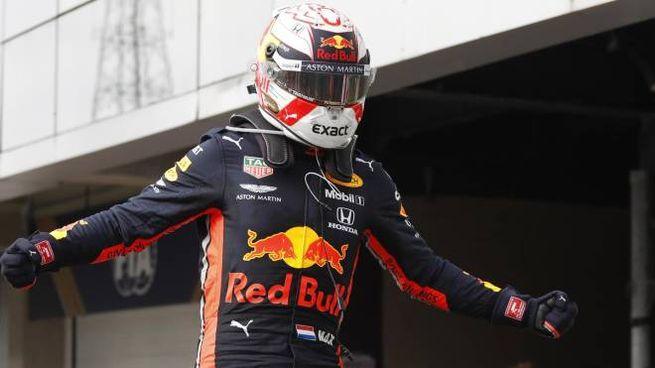 Max Verstappen primo in Brasile (Ansa)
