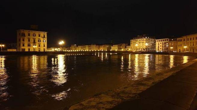 Lungarno di Pisa (Ansa)