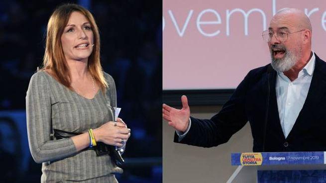 Lucia Borgonzoni e Stefano Bonaccini
