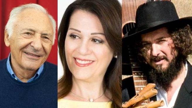 Mogol, Sonia Peronaci e Vinicio Capossela