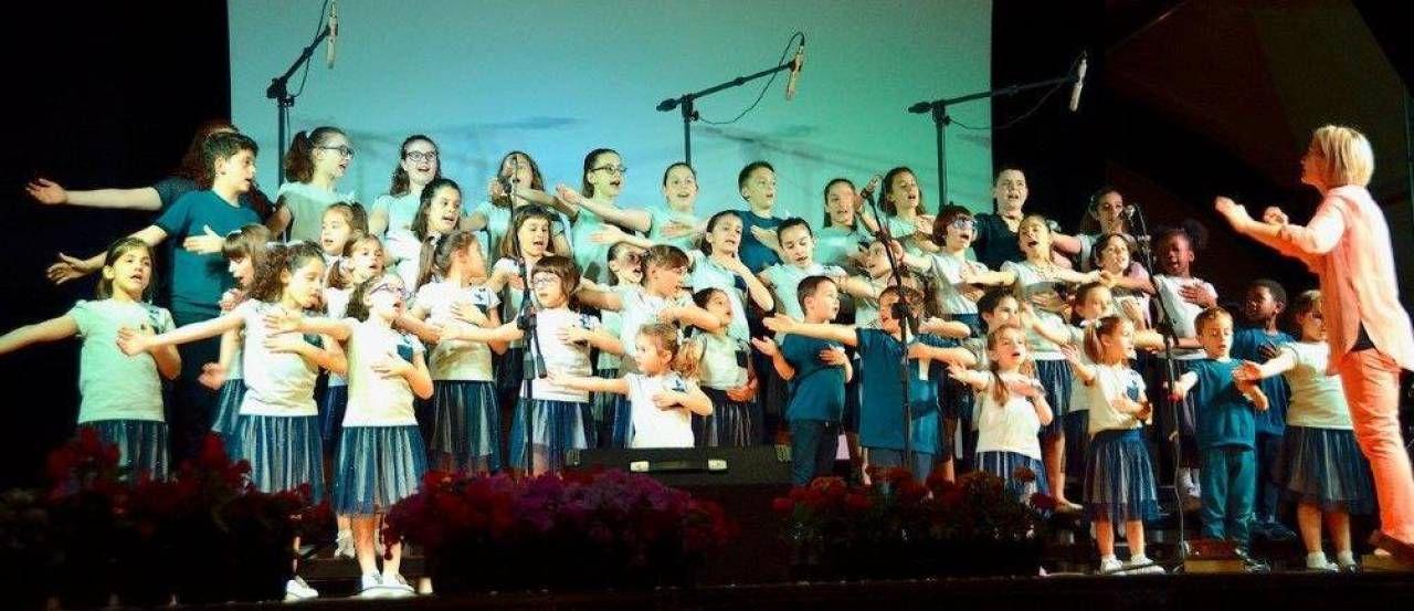 Il coro dei bambini 'Sorridi con noi' collabora anche con l'Antoniano